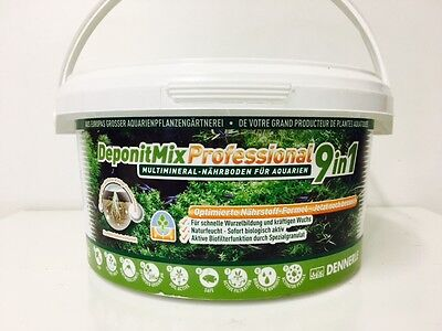 Dennerle DeponitMix Professional 9in1 - Aquarium Plant Nutrient Soil 2.4kg