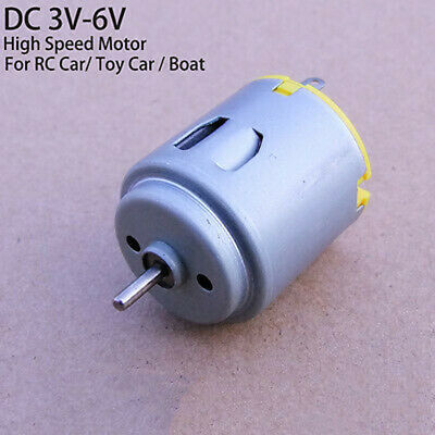 DC 3V~6V 8000RPM Mini Round R260 DC Motor 15mm long Shaft DIY Hobby Toy Car Boat