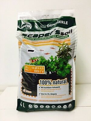 Dennerle Scaper's Soil - 4L - Active Scapers Substrate for Shrimp and Plants NEW