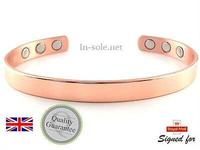 Copper Bracelet Arthritis  Bio Pain Relief  Magnetic Bangle Unisex