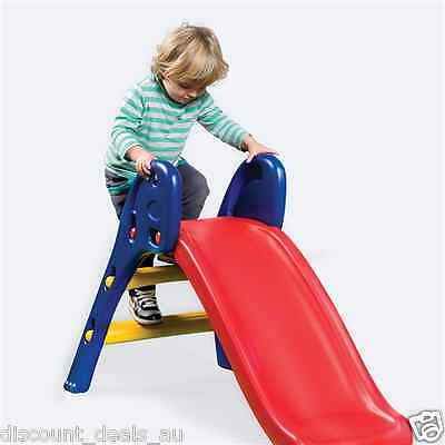 Kids Slide Toddler Fun Slide Sliding Play Outdoor Indoor Folding Slide Childrens