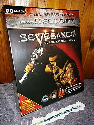 SEVERANCE BLADE OF DARKNESS LIMITED EDITION+T SHIRT x PC PAL ITALIAN/UK/FR!NEW