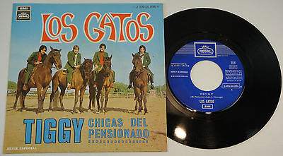 "7"" los GATOS tiggy 45 SPANISH RARE SINGLE 1969 FREAKBEAT mod SOUL DANCER"