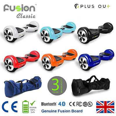 "Original 6.5"" Fusion Electric Scooter Swegway Hover Board Self Balance Bluetooth"