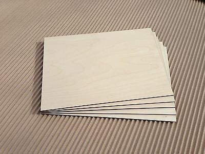 25 x Birch Faced Plywood Panels 600 x 300mm x 3mm Wood Sheet Pack Laserply