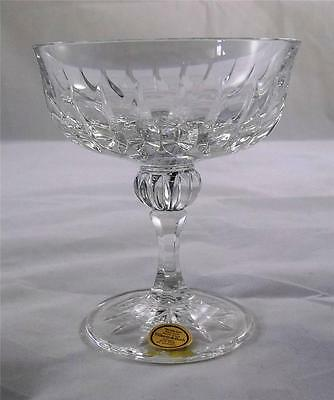 Villeroy & and Boch CONTESSA champagne bowl glass 24% lead crystal NEW handmade