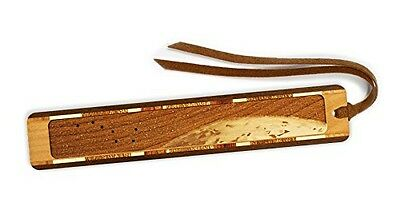 Mitercraft Outer Space - Big Dipper with Earth Engraved Wooden Bookmark with
