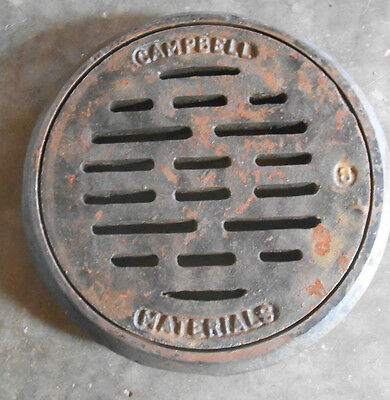 """CAMPBELL  HD Traffic Area 8 """" Floor Drain with Collar (161-A6)"""