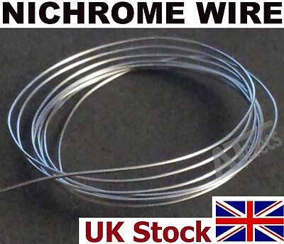 Nichrome Wire Various Gauges,   Resistance Heating Element Wire - UK Stock