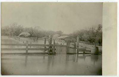 c1920s Hiawatha Kansas flood scene Real Photo