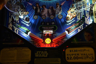 Pirates of the Caribbean Pinball trough light