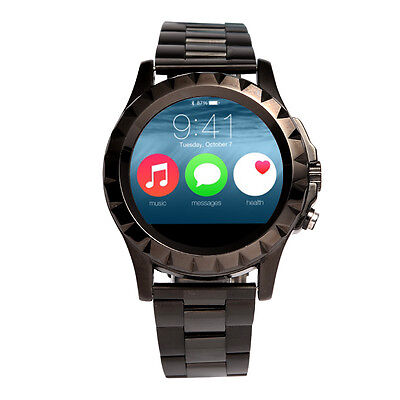 Waterproof Bluetooth Smart Watch Stainless Wristwatch Phone Mate for IOS Android