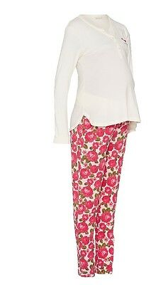 Maternity Peter Alexander Pajamas Rose Winter Pants Sleepwear Breastfeeding New