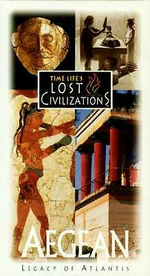 NEW Time Life Lost Civilizations VHS Aegean Atlantis Thera Crete Troy Anatolia