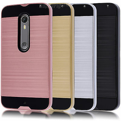 Hybrid Armor Phone Case Cover Protector For Motorola Moto X Style/Pure Edition