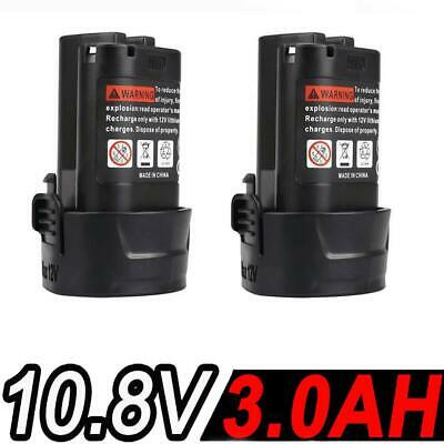 2x2.0AH 10.8V Li-ion Battery for Makita BL1013 BL1014 LCT203W 194550-6 194551-4