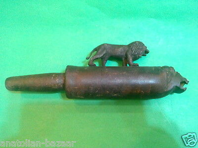 Rare Find Ottoman Turkish Bronze Faucet Horhor