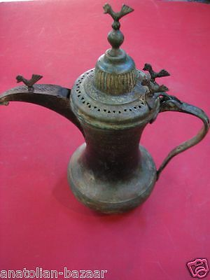 Ottoman Turkish Copper Coffee Pot