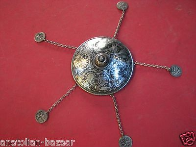 Excellent Ottoman Turkish Silver Wedding Headdress