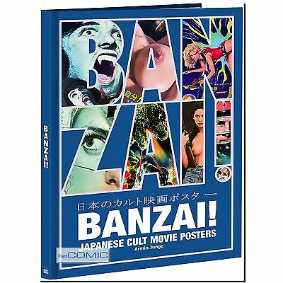 BANZAI! JAPANESE CULT MOVIE POSTERS Armin Junge Slasher Gialli Campfilm HORROR