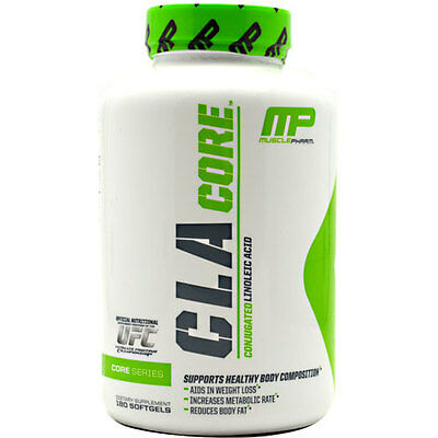 MusclePharm CLA Core 90 - 180 Capsules Weight Loss Fat burner