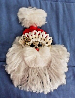 Macrame Santa Decoration