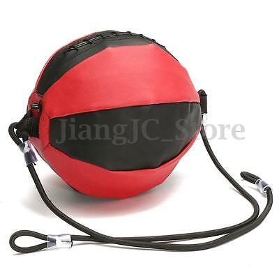 Leather Gym Boxing Fitness Speed Ball Double End Floor to Ceiling Punching Bag