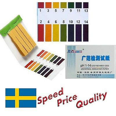 160 Strips pH 1-14 Test Indicator Litmus Paper - Fast Delivery