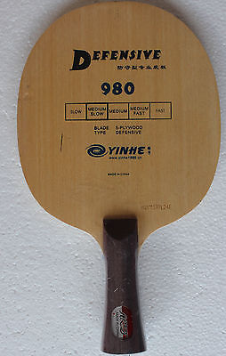 Defensive Galaxy / YinHe 980 Table Tennis Blade, NEW!