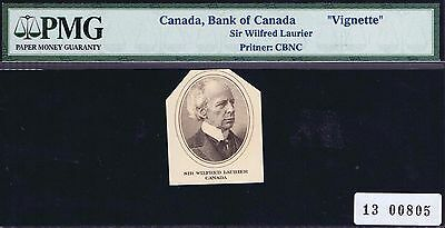 13-00805 # Canada | Vignette, Sir Wilfred Laurier, 5 Dollars, 2002, Pmg Unc