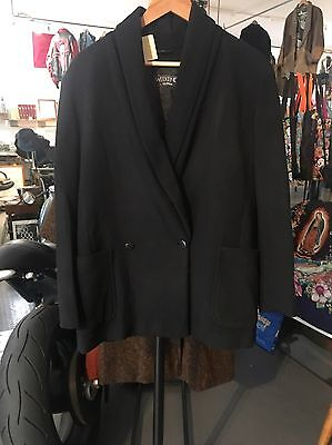 Cappotto Max Mara Weekend Vintage Anni 80  Made In Italy Lana Cashmere Tg M