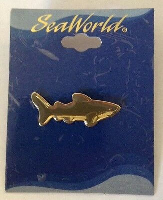 Sea World Great White Shark Lapel Button Pin