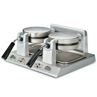 NEW! Waring WW250B - Commercial Double Belgian Waffle Maker 208V!!
