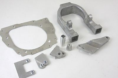 Complete aluminum frame conversion kit for 06-09 CRF250R to CR250 engine