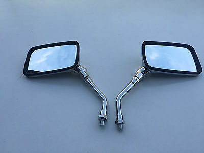 Chrome E-Marked Mirrors Pair For  Suzuki Gz125 Gn125 Gsf600 Gsf1200