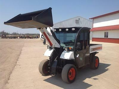 2008 Bobcat 5600 Toolcat For Sale 4X4 Hydraulic Dump Bed Hydro Transmission