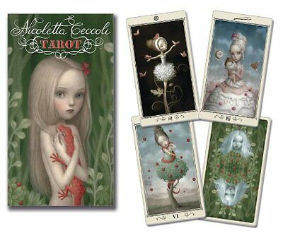 Nicoletta Ceccoli Tarot Deck Cards Wiccan Pagan Metaphysical
