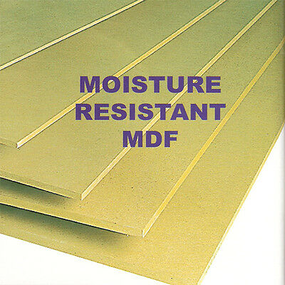 12 MM MDF moisture resistent CUT TO SHAPE OR SIZE - easy to paint or spraying