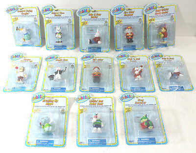 Huge Lot 13 Ganz Webkinz Figures & Codes Sealed In Package Cake Topper Toy A7