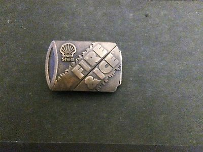 Indiana Metal Crafts-Shell Fire & Ice Belt Buckle