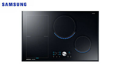 Samsung NZ84J9770EK Chef Collection Virtual Flame™ Induction Hob Black Glass !!!