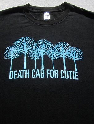 DEATH CAB FOR CUTIE 2006 tour Youth Girl LARGE T-SHIRT american apparel