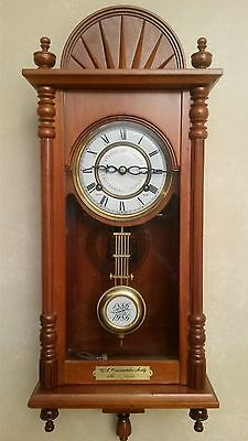 Vintage Wind up wall clock Statue of Liberty centenial
