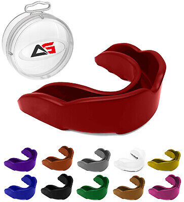 Oscar Air Gel Gum Shield Mouth Guard Boxing MMA Adult/Child Rugby Boxing