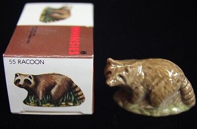 Wade....Made in England Whimsies Racoon No. 55