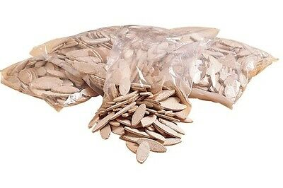 1000 Assorted Biscuits Wood Joint Beech Woodwork Carpentry Nib Porter Cable Join