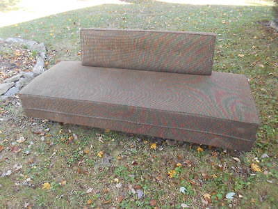 Mid Century Modern Danish Lounge Sofa Daybed Vintage 1960'S