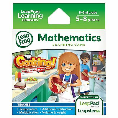 LeapFrog Cooking Recipes On The Road Learning Game - LeapPad For Ages 5-8 Years