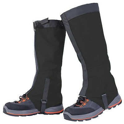 NEW Waterproof Snowproof Leg Gaiters Climbing Hiking Leggings Cover Gaiters