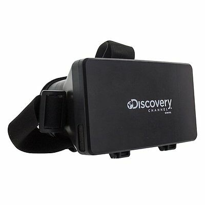 Discovery Channel Virtual Reality Glasses Smartphone Compatible 3D Officially Li